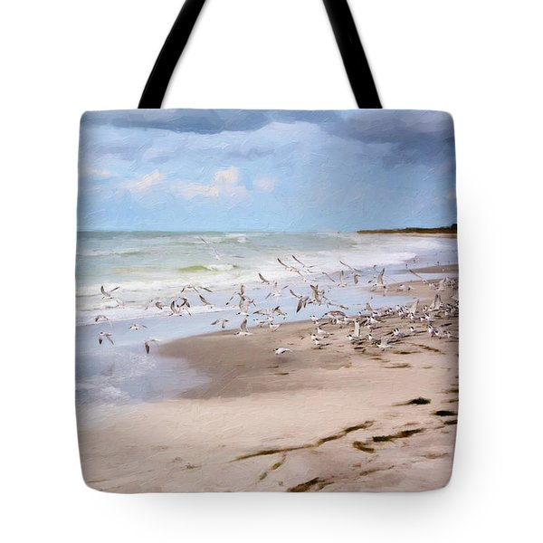 The Flock Tote Bag