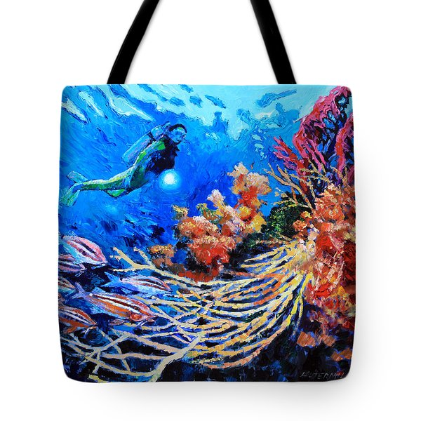 The Flow Of Creation Tote Bag