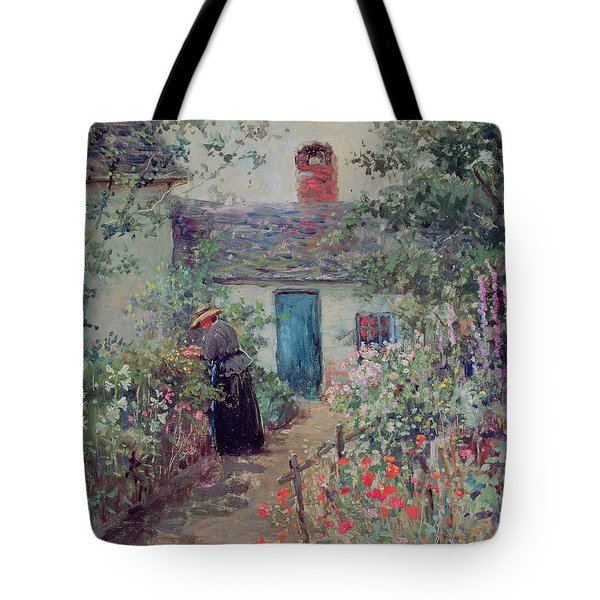 The Flower Garden Tote Bag by Abbott Fuller Graves