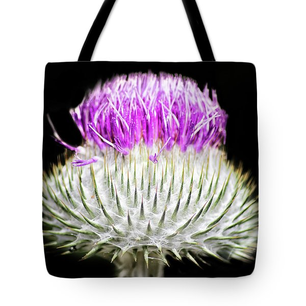 The Flower Of Scotland Tote Bag