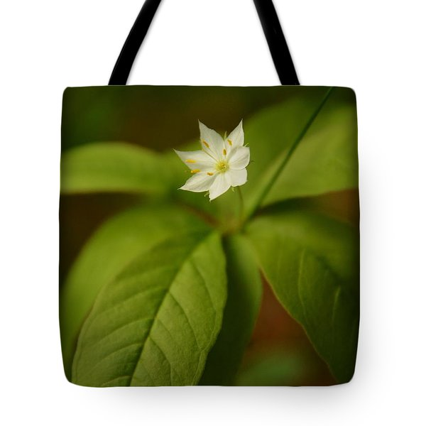 The Flower Of The Dark Woods Tote Bag