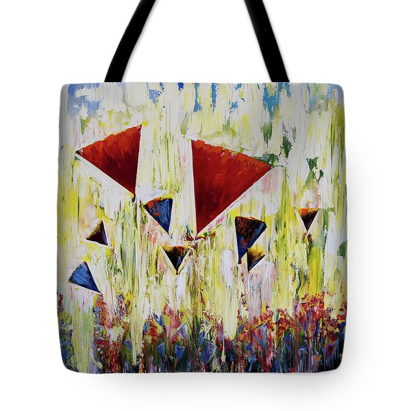 The Flower Party Tote Bag