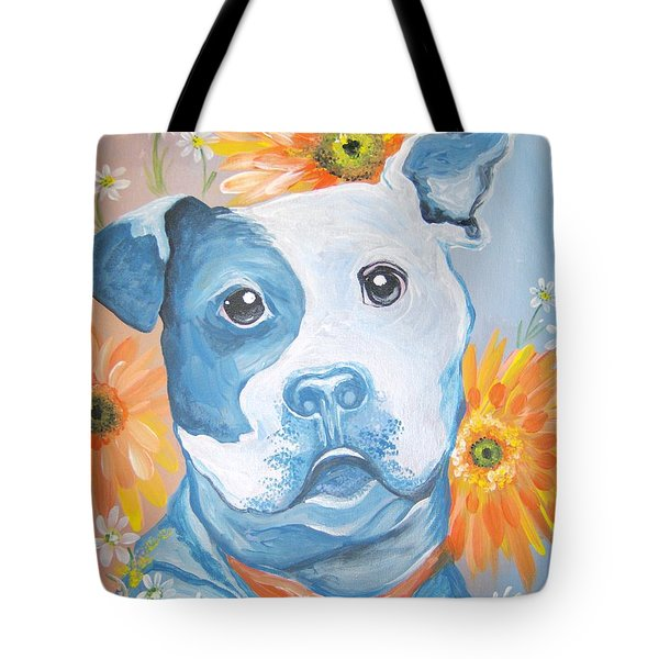 The Flower Pitt Tote Bag