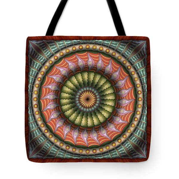 The Flowering Of The Sunshine Moons Tote Bag
