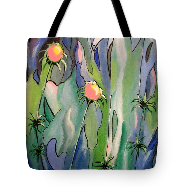 The Flowers Have It Tote Bag