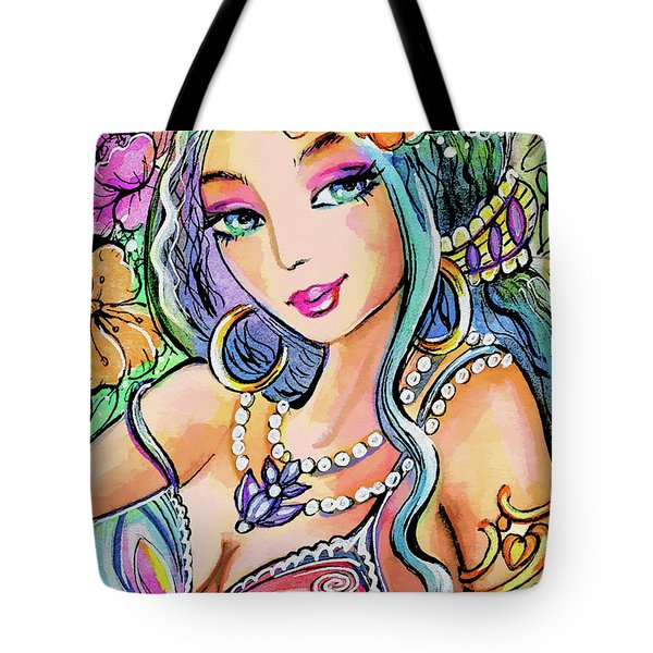The Flowery Stream Tote Bag
