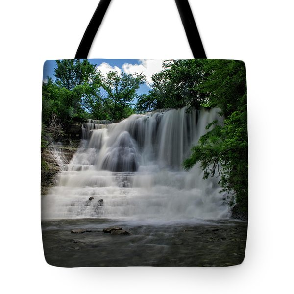 The Flowing Falls Tote Bag