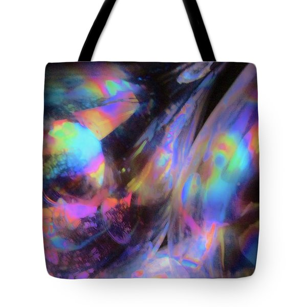 The Fluidity Of Time And Space Tote Bag