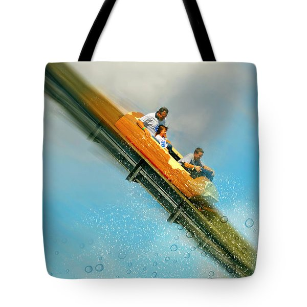 Tote Bag featuring the photograph The Flume by Diana Angstadt