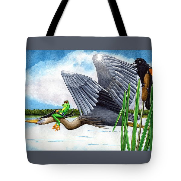 The Fly By Tote Bag
