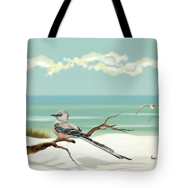 The Flycatcher Tote Bag