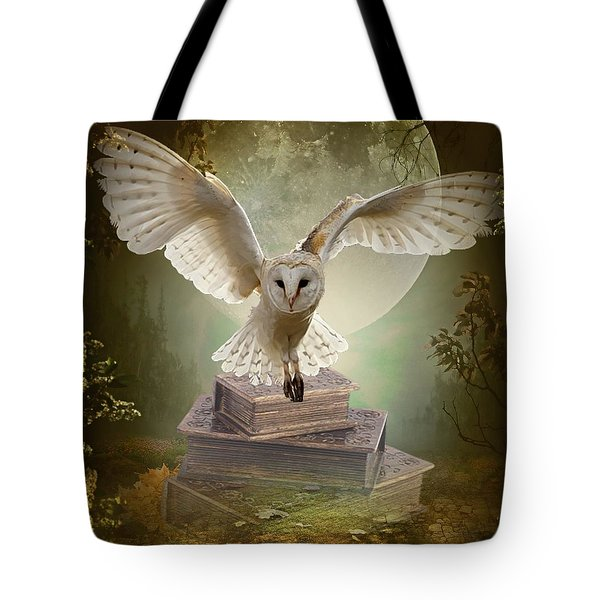 The Flying Wise Tote Bag