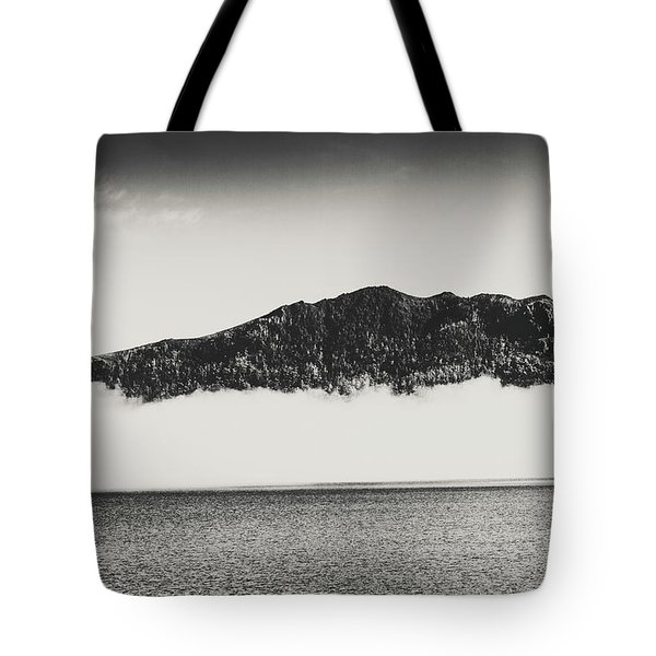 The Fog And The River Tote Bag