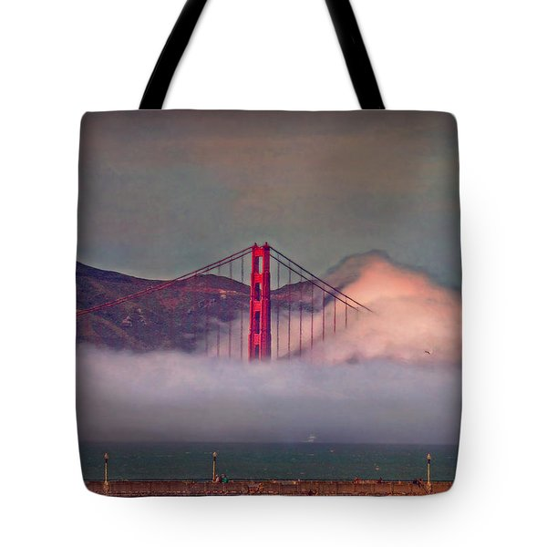 The Fog Tote Bag by Hanny Heim