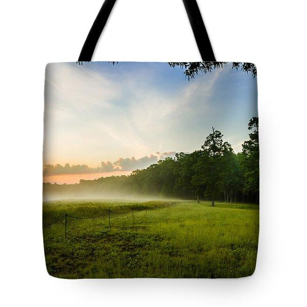 The Fog Of War Tote Bag