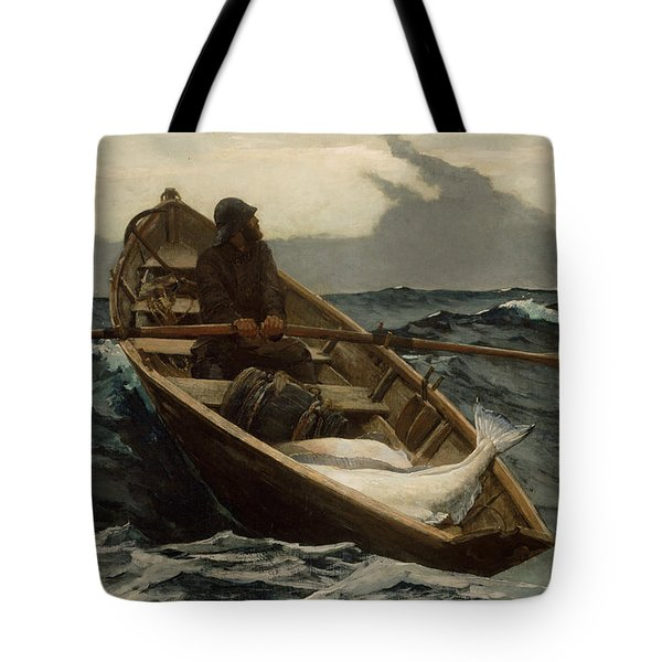 The Fog Warning  Tote Bag