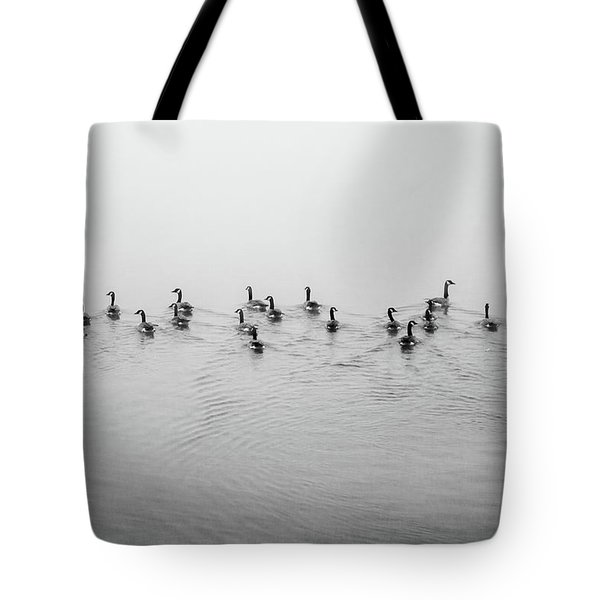 The Foggy Passage Tote Bag