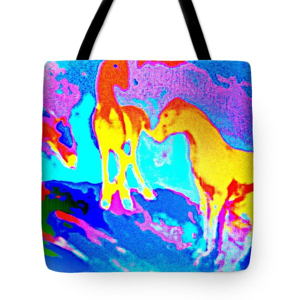 If We Were The Fools On The Hill You Was The Devil In Disguise   Tote Bag