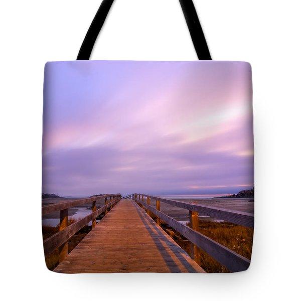 The Footbridge Good Harbor Beach Tote Bag