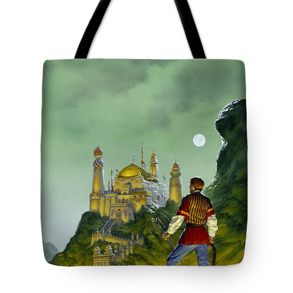The Forbidden Palace Tote Bag by Richard Hescox