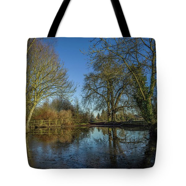 The Ford At The Street Tote Bag