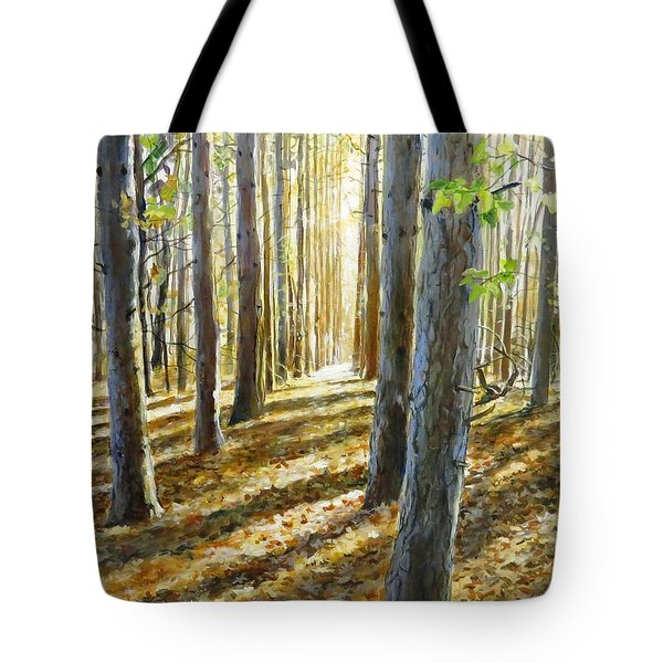 The Forest And The Trees Tote Bag