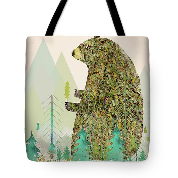 The Forest Keeper Tote Bag