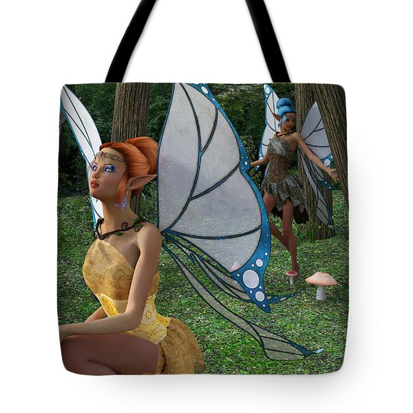 The Forest Never Tells Tote Bag