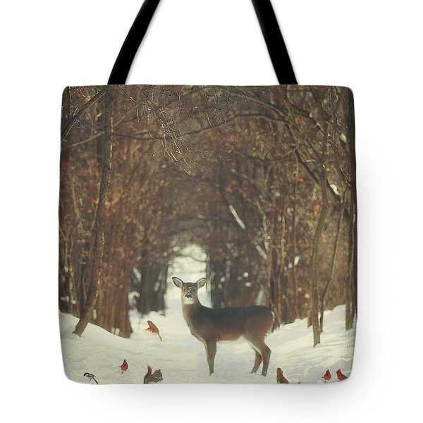 The Forest Of Snow White Tote Bag