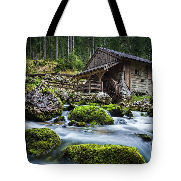 The Forgotten Mill Tote Bag by JR Photography