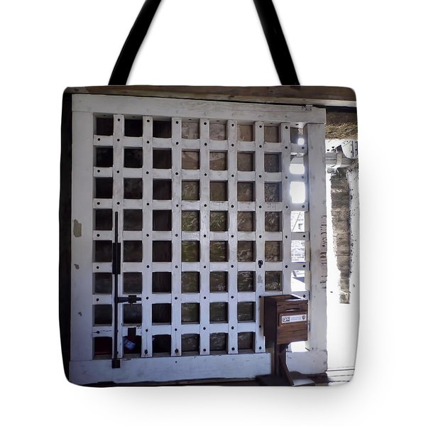 The Fort Door Tote Bag