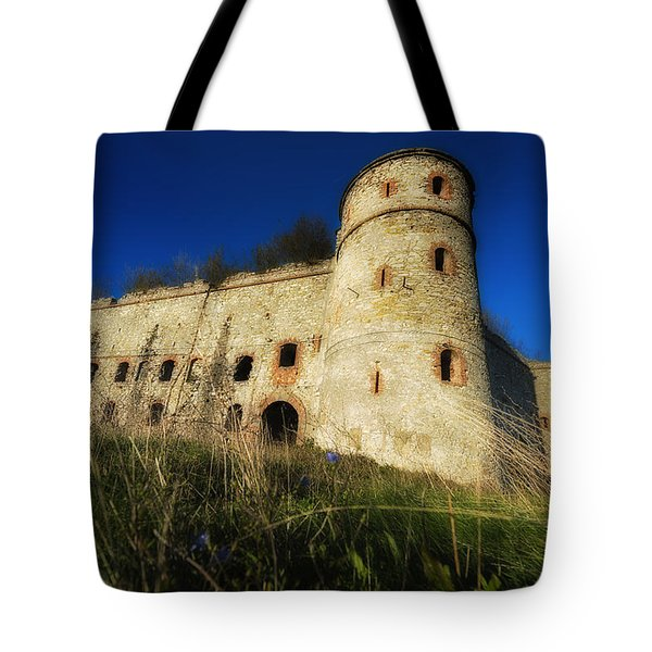 Tote Bag featuring the photograph The Fortress - La Fortezza by Enrico Pelos
