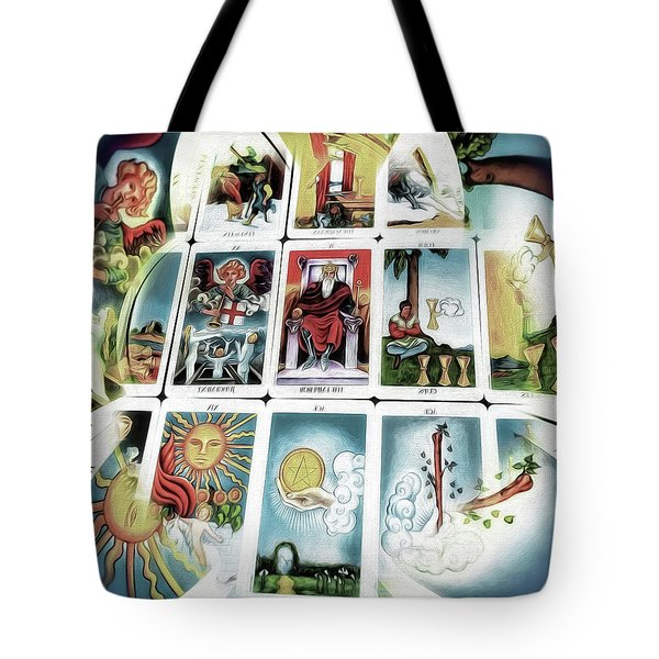The Fortune Teller Tote Bag by Pennie  McCracken