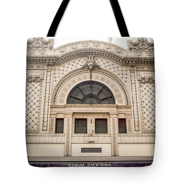 The Forum Cafeteria Facade Tote Bag
