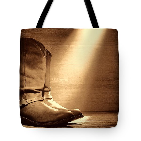 The Found Boots Tote Bag