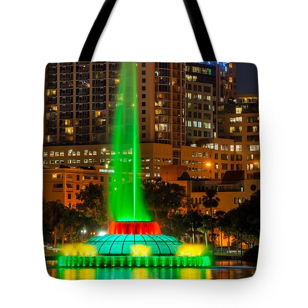 The Fountain Tote Bag