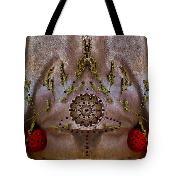 The Fountain Of Life Tote Bag by Pepita Selles