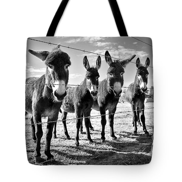 The Four Amigos Tote Bag by Sharon Jones