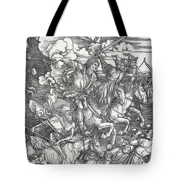 The Four Horsemen Tote Bag