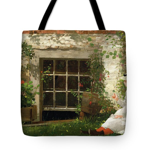 The Four Leaf Clover Tote Bag
