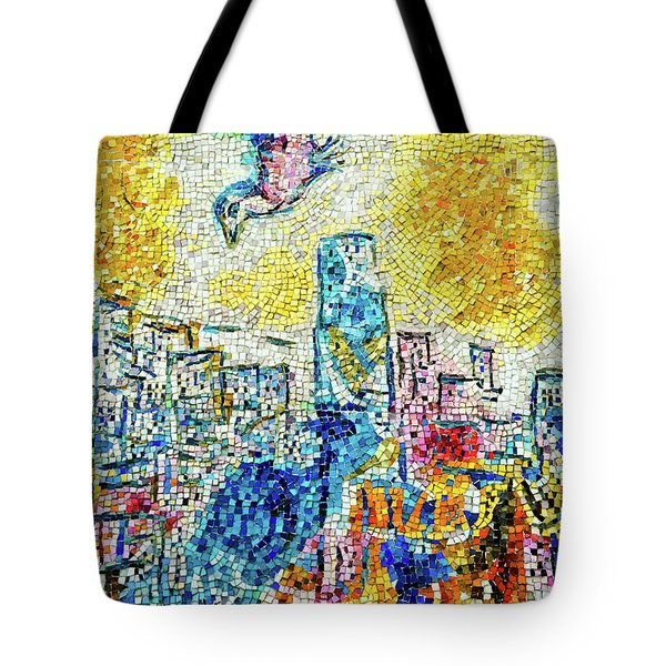 The Four Seasons Chicago Portrait Tote Bag