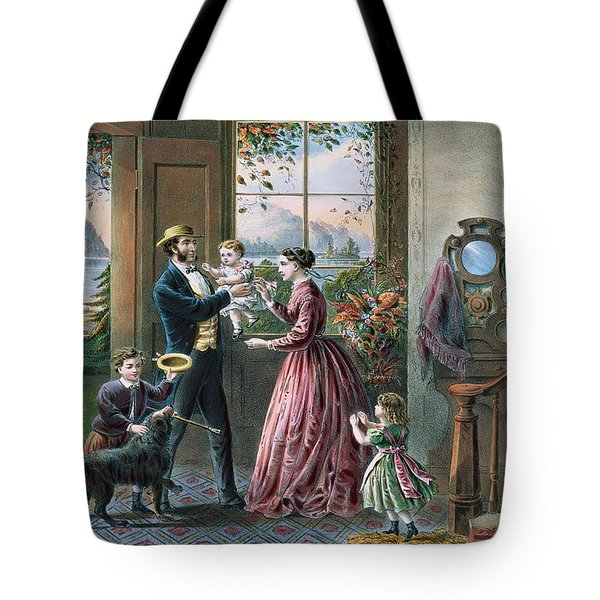 The Four Seasons Of Life  Middle Age Tote Bag