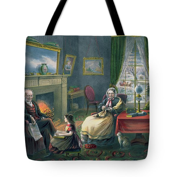The Four Seasons Of Life  Old Age Tote Bag
