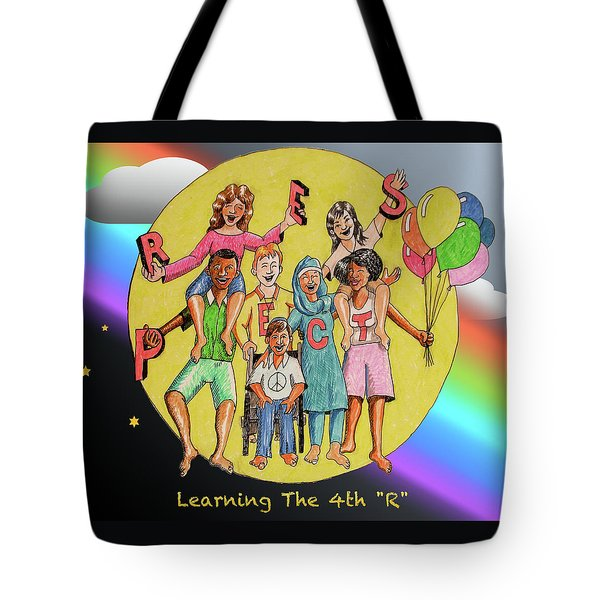 The Fourth R Tote Bag