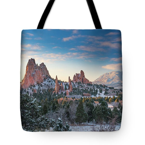 Tote Bag featuring the photograph The Fourth Season by Tim Reaves