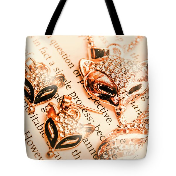 The Fox Tale Tote Bag