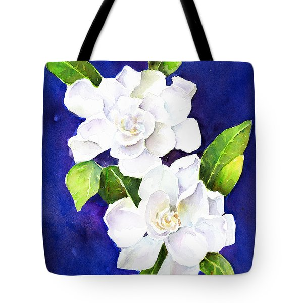 The Fragrant Gardenia Tote Bag
