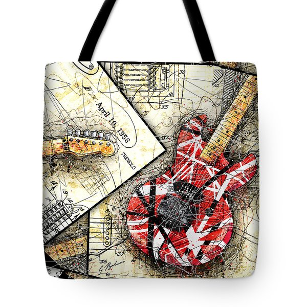 The Frankenstrat Tote Bag by Gary Bodnar