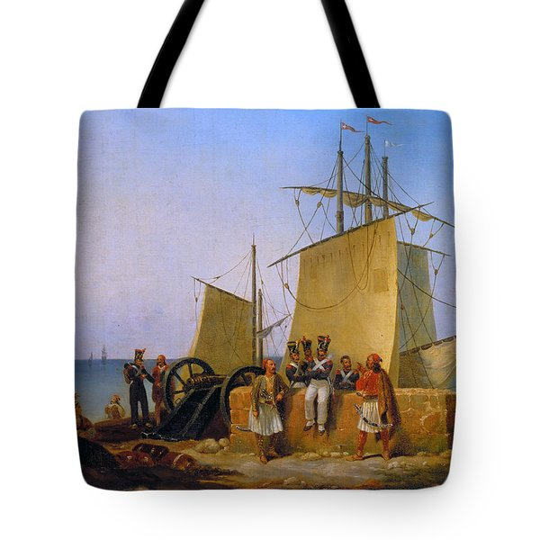 The French Mission To The Morea, Peloponnese Tote Bag