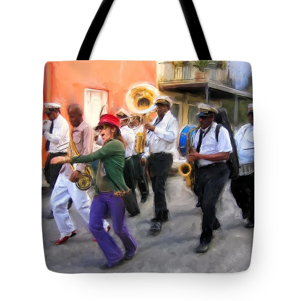 The French Quarter Shuffle Tote Bag